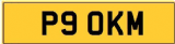 KM INITIALS  Private CHERISHED Registration Number  OKM
